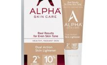 Alpha Skin Care Dual Action Skin Lightener Review: Ingredients, Side Effects, Customer Reviews And More.