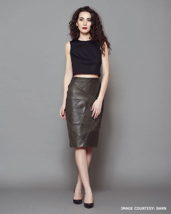 Classic Leather Pencil Skirt That Makes Good Fashion Sense