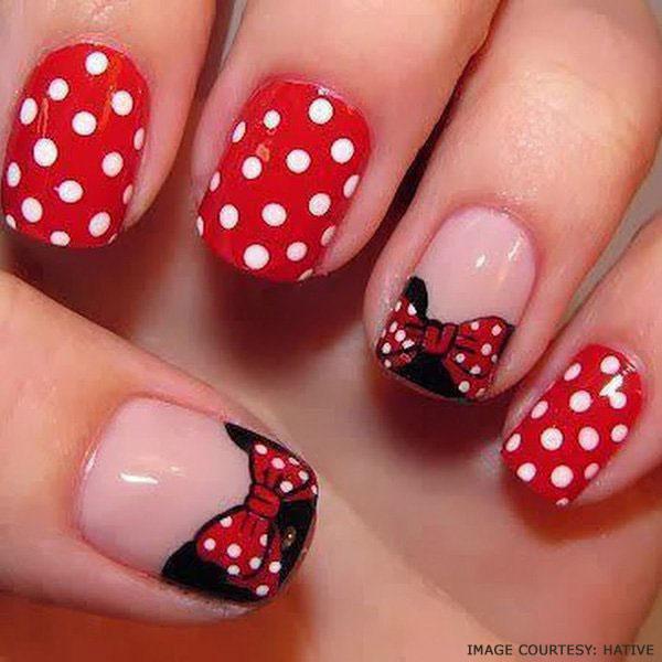 cute-bow-polka-dot-nail-art-tutorial