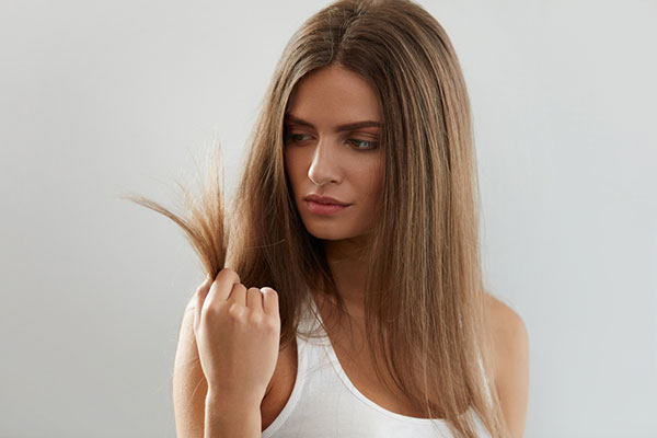 damaged hair is the result of excessive styling.