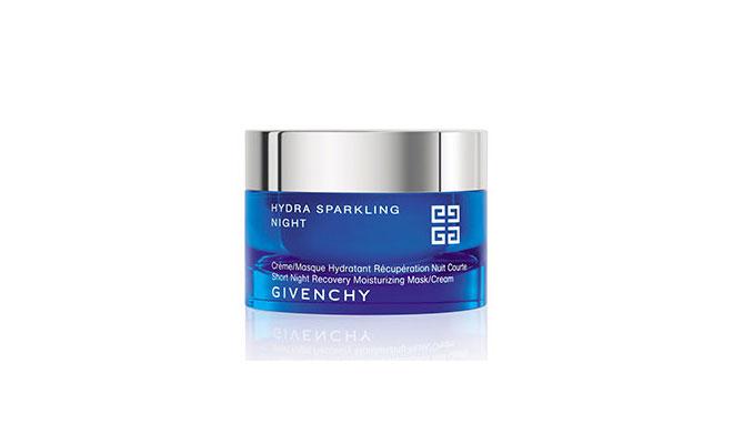 givenchy hydra sparkling night moisturizing mask cream