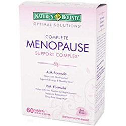 nature's bounty menopause